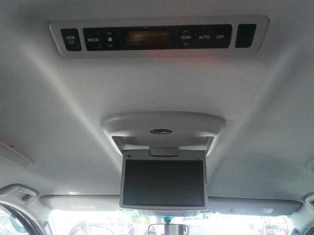 トヨタ ヴェルファイア 2.4Z バックカメラ リアモニタ ナビTV