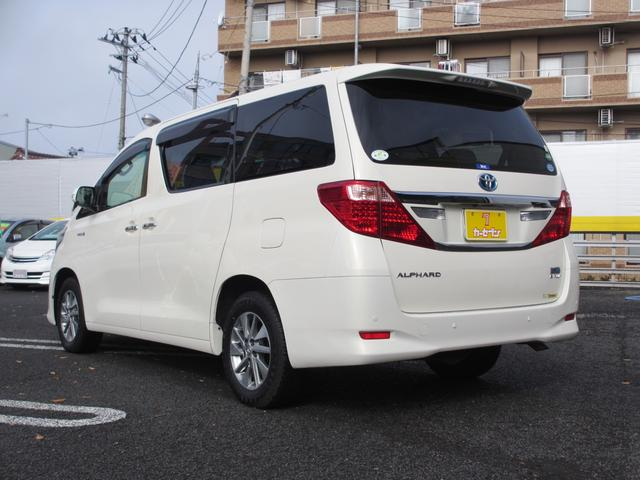 トヨタ アルファードハイブリッド G 2SR 4WD 1オーナー 純正HDDナビ Rモニタ