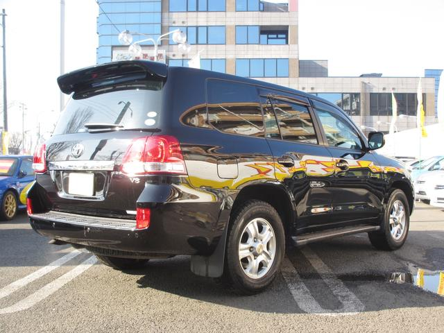 トヨタ ランドクルーザー AX 1オーナー禁煙 純正HDDナビ AW付スタッド