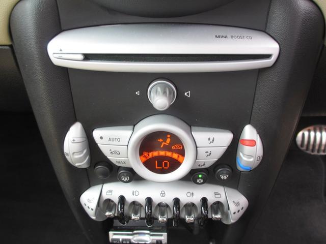 MINI MINI クーパーS 純正CD 革シート シートヒーター ETC