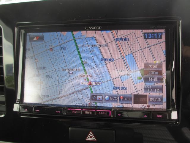 スズキ MRワゴン ECO-L 社外ナビ i-stop スマートキー バイザー