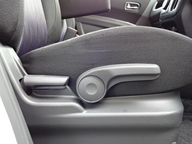 運転席シートリフター!座面の高さ調整が可能です!