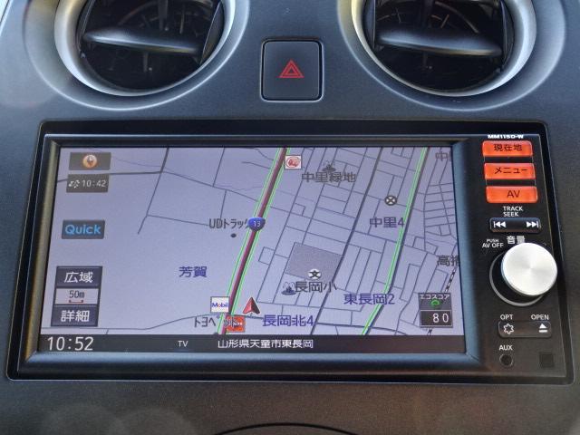 X FOUR純正ナビバックカメラ自動ブレーキ切替式4WD(6枚目)