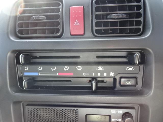 KCスペシャル 4WD 5MTエアコンパワステ純正ラジオ(8枚目)