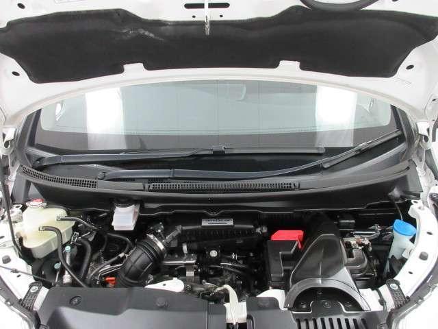 低燃費ながらパワフル、しかも静かな VTEC TURBOエンジン