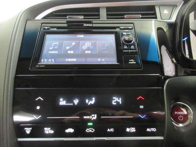 ■便利なオートエアコン付■温度を設定するだけで、自動で風向き、風量、暖かさを調節してくれます☆プラズマクラスター技術搭載のフルオートエアコンで快適です。