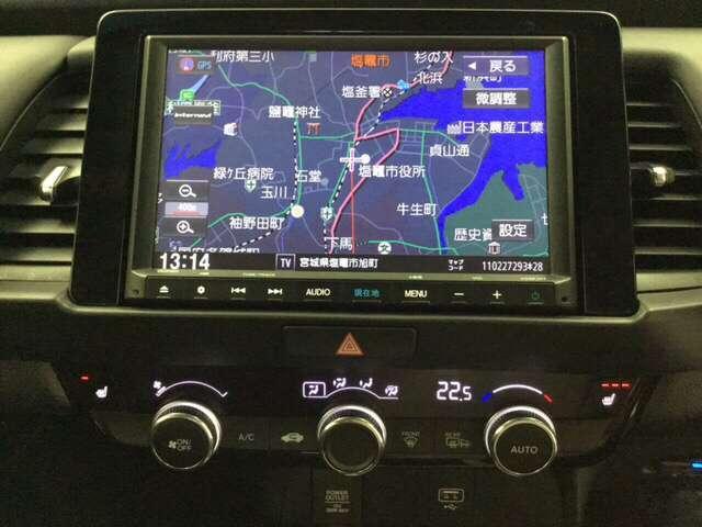 リュクス 1.3リュクス アイドリングストップ クルーズコントロール ABS スマートキー フルセグ 衝突被害軽減ブレーキ ETC(8枚目)
