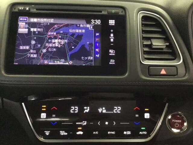 ハイブリッドZ・ホンダセンシング 衝突軽減ブレーキ装備 クルコン フルセグTV 衝突軽減B LEDライト メモリーナビ ナビTV シートヒーター CD バックモニター AWD スマートキー レザーシート DVD Pシート(8枚目)