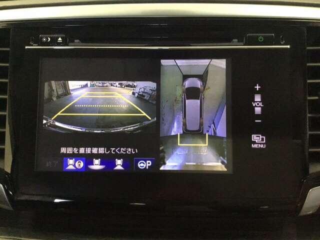 ハイブリッドアブソルート・ホンダセンシンアドバンスP インターナビ ETC Rカメラ 全方位M 地デジ 後席モニター 衝突軽減 LED アルミ バックモニター(8枚目)