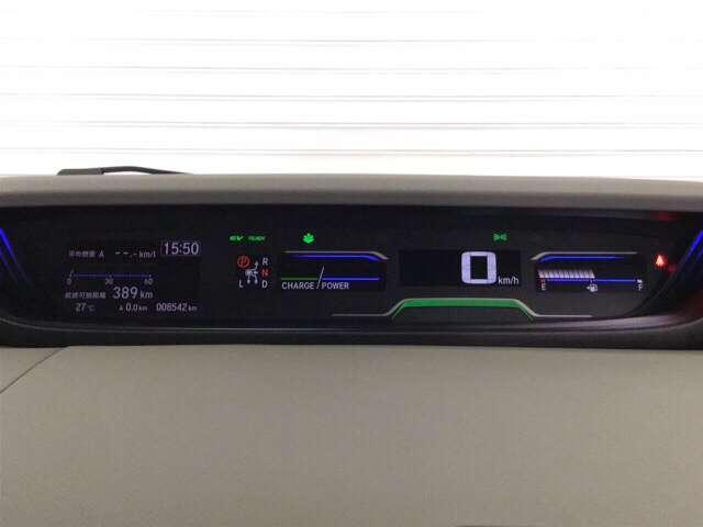 ハイブリッド・Gホンダセンシング 衝突軽減ブレーキ装備 アルミ 地デジ 衝突軽減 LEDヘッドライト Bカメ ナビTV メモリーナビ ETC スマートキー キーレス 盗難防止装置 ABS デュアルパワースライドドア ECON CD(11枚目)