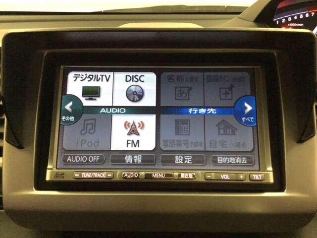 GH 社外ナビ付き キーレス AC AW HID ETC ナビTV メモリーナビ DVD 横滑り防止装置 スマートK 地デジ CDチューナー イモビライザー ABS SRS(9枚目)