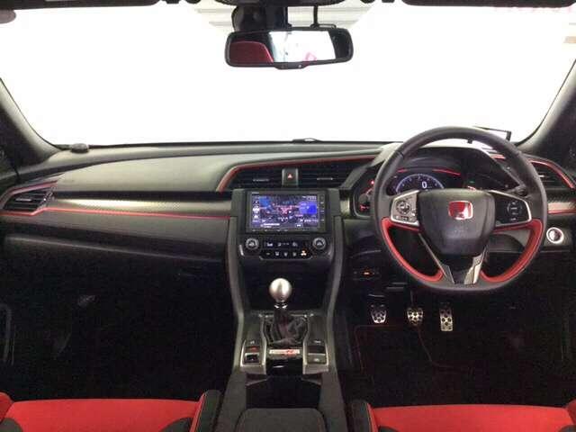 タイプR Hondaインターナビ付き クルーズコントロール ターボ LED ナビ ETC 盗難防止システム キーレス スマートキー アイドリングストップ サイドSRS メモリナビ Bカメ アルミホイール(7枚目)
