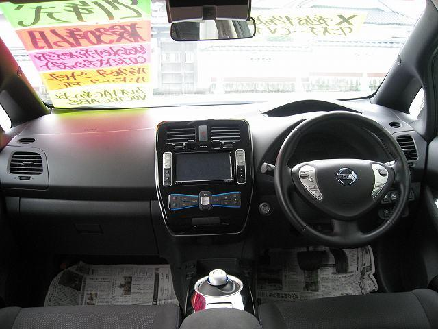 日産 リーフ X 純正メモリーナビ地デジTV CD バックモニター