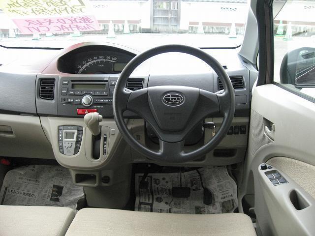 スバル ステラ L 4WD アイドリングストップ 純正CD