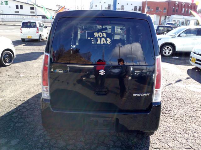 スズキ ワゴンR FXリミテット ワンオーナー シートヒーター ABS 4WD