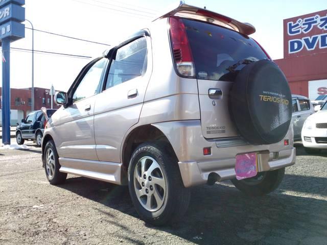 ダイハツ テリオスキッド カスタムL 4WD アルミ ターボ キーレス ABS