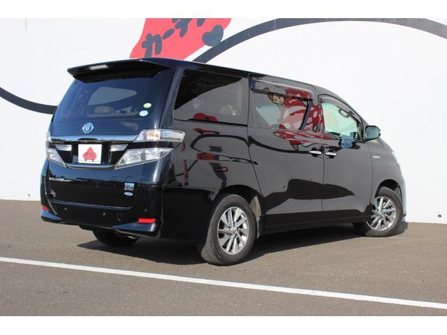 トヨタ ヴェルファイアハイブリッド V Lエディション 4WD HDDナビ フリップダウン