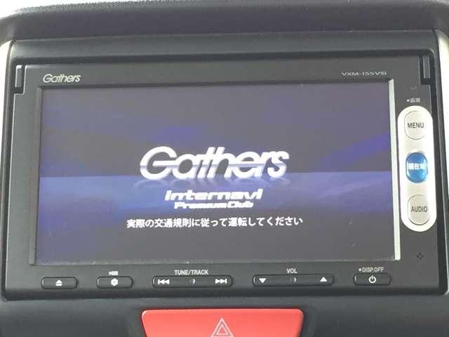 「純正ナビ」 純正ナビ付きで知らない土地のドライブも安心!CD、DVD、TVも楽しめます♪
