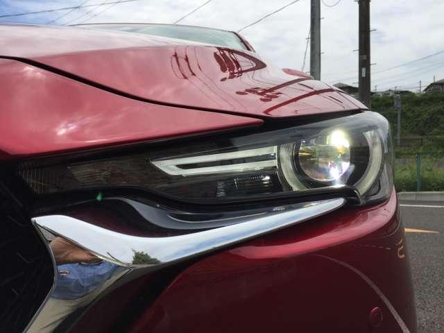 「LEDヘッドライト」 明るい!省電力!長寿命!暗い夜道も安全に運転できますね♪