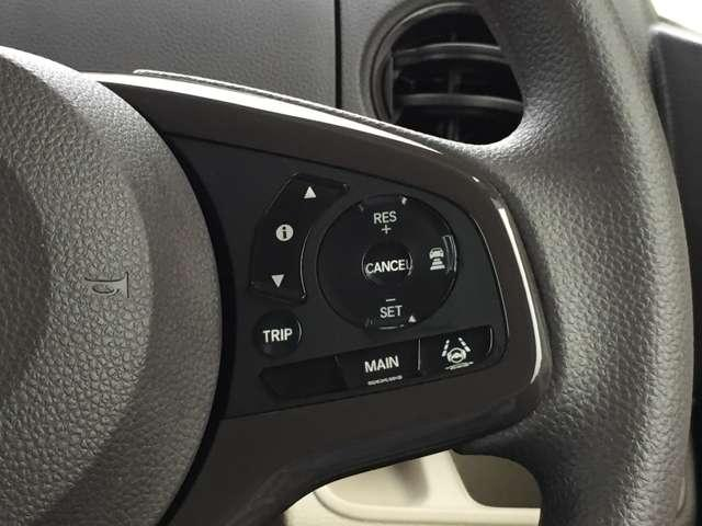 「レーダークルーズコントロール」先行車に追いついた際には安全な車間距離を保ちながら、車速に合わせて追従できるのでラクラク運転です☆