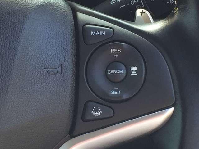 「レーダークルコン」先行車に追いついた際には安全な車間距離を保ちながら、先行車の車速に合わせて追従していくシステムです。