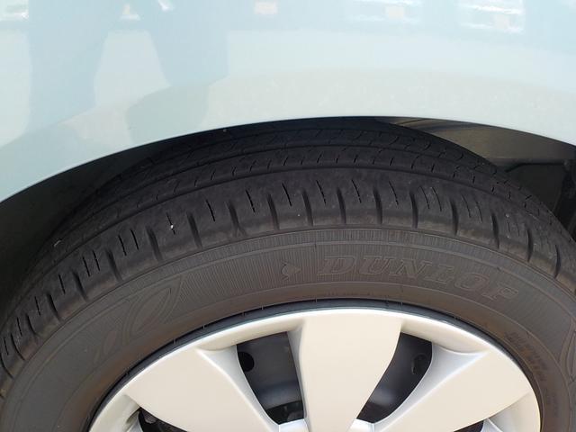 タイヤの残り溝です