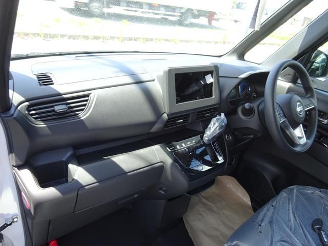 ハイウェイスター X 快適パック 届出済未使用車 左側パワースライドドア 衝突被害軽減ブレーキ プッシュスタート スマートキー エアバック ABS(7枚目)