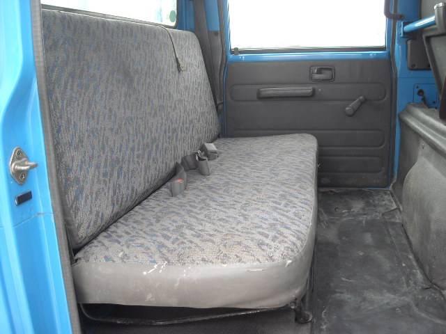 いすゞ エルフトラック Wキャブフラットロー 垂直ゲート付 Tベルト交換済
