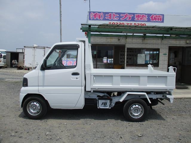 日産 クリッパートラック 4WD PTO式ダンプ