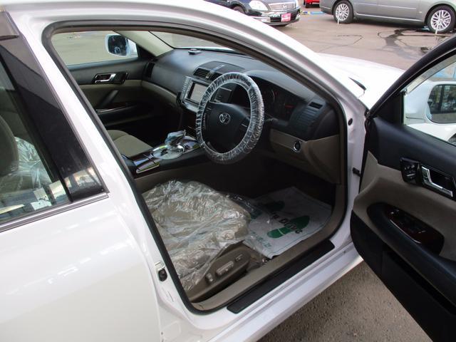 トヨタ マークX 250G Lパッケージ 後期型 HDDナビ 1年保証