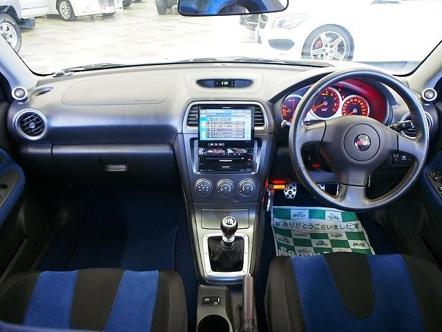 スバル インプレッサ WRXSTi HDDナビ STIマフラー ブレンボ ターボ