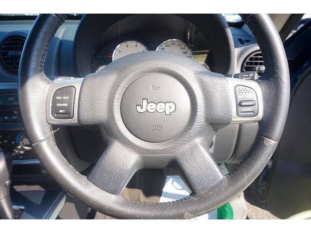 クライスラー・ジープ クライスラージープ チェロキー リミテッド 黒革シート クルーズコントロール 4WD