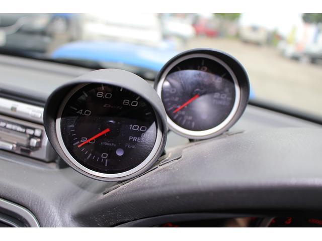 スバル インプレッサ WRX STi Defiメーター 車高調 BBS17インチ