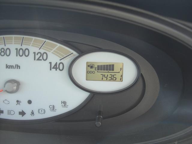 メーター!74361キロ!
