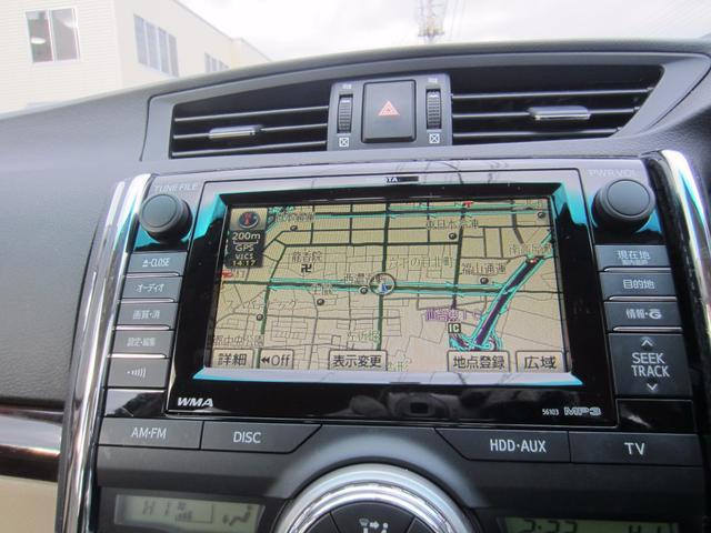 トヨタ マークX 250G リラックスセレクション 純正HDDナビ 地デジTV