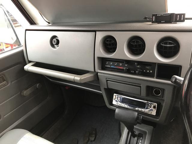 4WD リフトアップ マッドタイヤ エアコン パワステ(10枚目)