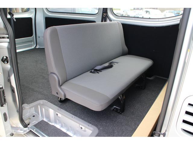 日産 NV350キャラバンバン ロングDXターボ リアヒーター 4WD