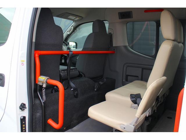 日産 NV350キャラバンバン 福祉車輌 チェアキャブ リフト 4WD 2.5Dターボ