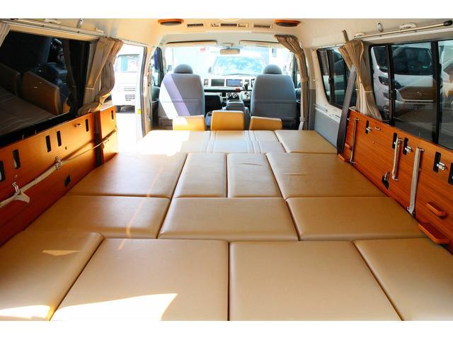 トヨタ ハイエースワゴン キャンピング リンエイ バカンチェス リッツ 4WD