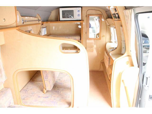 トヨタ レジアスエースバン ノースライフ 大地 4WD 寒冷地仕様 ツインサブ