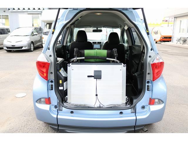 X ウェルキャブ 車いす仕様車Iリア席付 車高降下装置(8枚目)