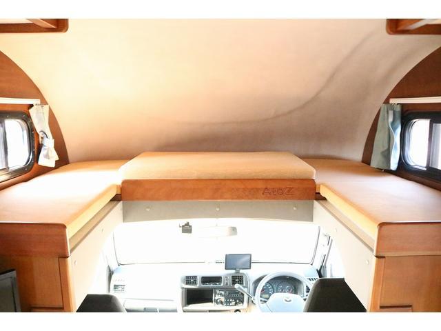 キャンピングカー AtoZ アミティLX 4WD サブバッテリー インバーター1500W 電子レンジ 19型テレビ 地デジアンテナ DC冷蔵庫 マックスファン FFヒータ- マルチルーム ワンオーナー(7枚目)