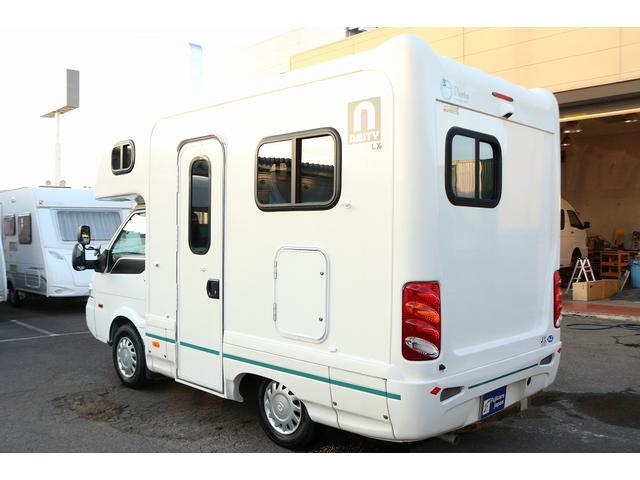 キャンピングカー AtoZ アミティLX 4WD サブバッテリー インバーター1500W 電子レンジ 19型テレビ 地デジアンテナ DC冷蔵庫 マックスファン FFヒータ- マルチルーム ワンオーナー(28枚目)