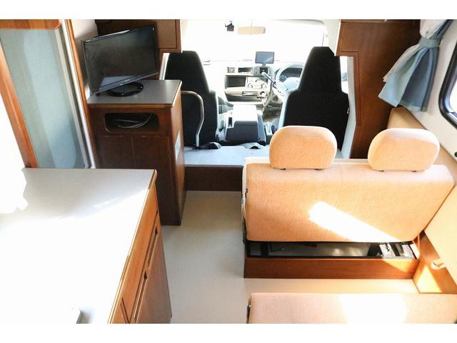 キャンピングカー AtoZ アミティLX 4WD サブバッテリー インバーター1500W 電子レンジ 19型テレビ 地デジアンテナ DC冷蔵庫 マックスファン FFヒータ- マルチルーム ワンオーナー(43枚目)