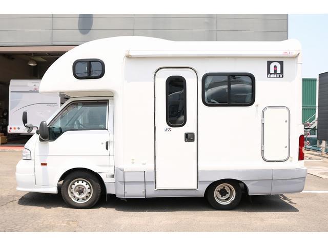 キャンピングカー AtoZ アミティ 4WD 常設二段ベッド ツインサブバッテリー ベバストFFヒーター サイクルキャリア サイドオーニング マックスファン 冷蔵庫 インバーター500W 走行充電(24枚目)