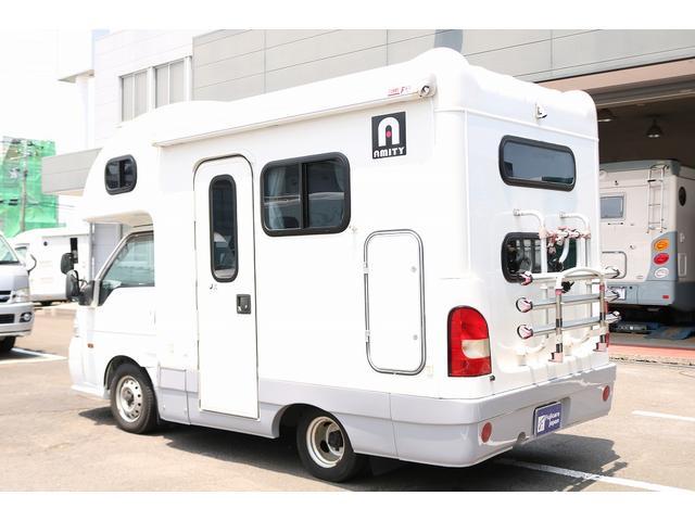キャンピングカー AtoZ アミティ 4WD 常設二段ベッド ツインサブバッテリー ベバストFFヒーター サイクルキャリア サイドオーニング マックスファン 冷蔵庫 インバーター500W 走行充電(28枚目)