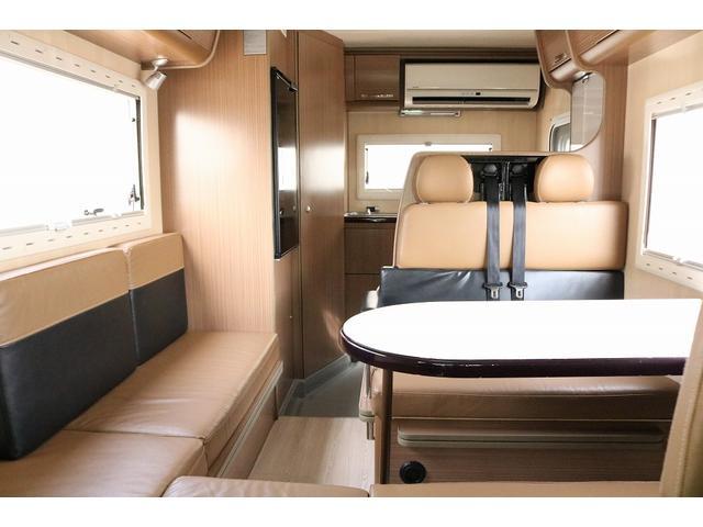 キャンピングカー バンテック コルドリーブス 4WD ディーゼルターボ家庭用エアコン ベバストFFヒーター インバーター1500W ツインサブバッテリー 電子レンジ 19型テレビ 地デジアンテナ(2枚目)