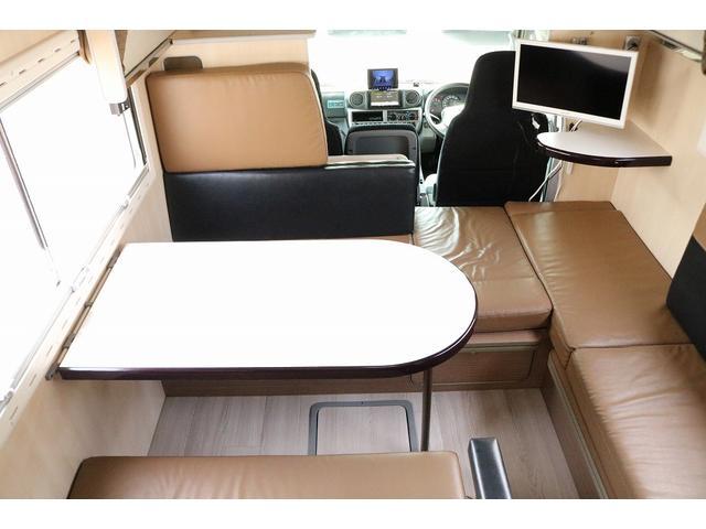 キャンピングカー バンテック コルドリーブス 4WD ディーゼルターボ家庭用エアコン ベバストFFヒーター インバーター1500W ツインサブバッテリー 電子レンジ 19型テレビ 地デジアンテナ(3枚目)