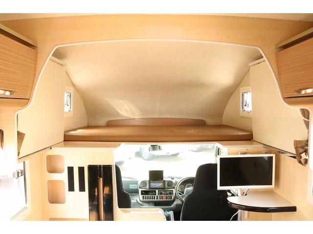 キャンピングカー バンテック コルドリーブス 4WD ディーゼルターボ家庭用エアコン ベバストFFヒーター インバーター1500W ツインサブバッテリー 電子レンジ 19型テレビ 地デジアンテナ(8枚目)