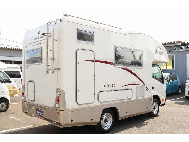 キャンピングカー バンテック コルドリーブス 4WD ディーゼルターボ家庭用エアコン ベバストFFヒーター インバーター1500W ツインサブバッテリー 電子レンジ 19型テレビ 地デジアンテナ(27枚目)
